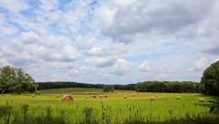Farmland Time lapse - stock footage