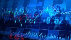 Stock Market _064 - stock footage