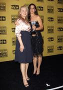 15th annual critics' choice movie awards press room. Stock Photos