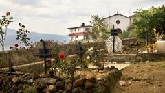 Hautausmaa hautausmaa janitizo saari Patzcuaro järvi meksiko Kuvituskuvat