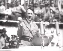 Hitler - Speech 01 Stock Footage