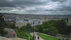 Paris - Basilica Sacré Coeur Stock Footage