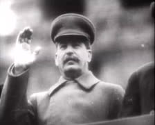 Josef Stalin Parade 01 Stock Footage