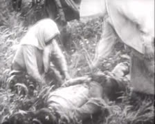 WW2 - Victims 01 Stock Footage