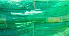 Green plastic mesh in construction Stock Photos