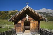 Stock Photo of Austria, Tirol, Karwendel, Chapel