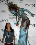James cameron and 'avatar' cast celebrates 40th annivesary of earth day. Stock Photos