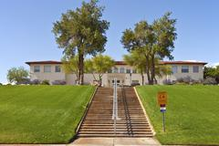 state offices boulder city nevada. - stock photo