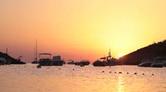SPAIN - Ibiza sunset Stock Footage
