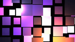 Squares purple pink colors Stock Footage