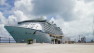 Stock Video Footage of Explorer Of the Seas - Royal Naval Dockyard 2