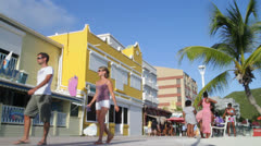 St Martin Shops 1 Stock Footage
