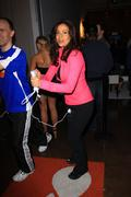 "constance marie.""active for life"" event and auction to benefit the march of - stock photo"