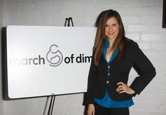 "kellie martin.""active for life"" event and auction to benefit the march of d - stock photo"