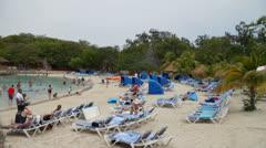 Labadee Haiti Beach Stock Footage