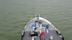 Ship - view from above Stock Footage