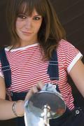 Young woman, portrait Stock Photos