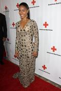 the american red cross red tie affair fundraiser gala. - stock photo