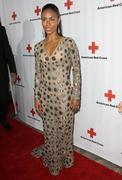 The american red cross red tie affair fundraiser gala. Stock Photos