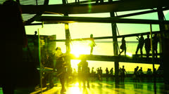 Reichstag glass dome - stock footage