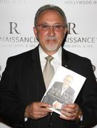 "Stock Photo of emilio estefan's book ""the rhythm of success"" book signing cocktail party."