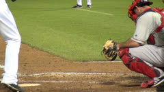 Baseball Catcher, Players, Sports, 2D, 3D Stock Footage