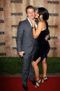 katrina law and fiance.starz original tv series 'spartacus: blood and sand'.h - stock photo