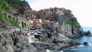 Stock Video Footage of Manarola, Cinque Terre