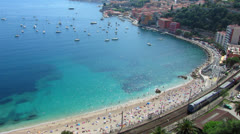 HD: French Riviera Stock Footage
