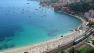Stock Video Footage of French Riviera