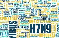 H7n9 Stock Illustration