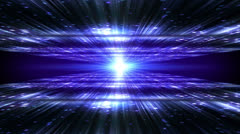Abstract motion background, shining light, rays, particles,and energy waves. Stock Footage