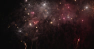 Stock Video Footage of Fireworks flying