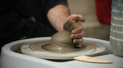 Pottery class workshop. Stock Footage