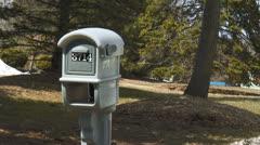 mailbox 02 - stock footage