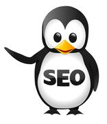 SEO Penguin - stock illustration