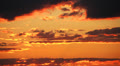 Dramatic sunset and clouds time-lapse HD Footage