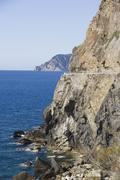 Italy, Liguria, Via dell'Amore Stock Photos