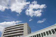Germany, Bavaria, Munich, Apartment Building Stock Photos