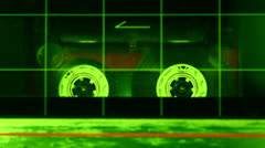 Stock Video Footage of Cassette