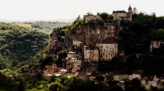 Rocamadour, Timelapse, France Stock Footage