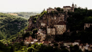 Stock Video Footage of Rocamadour, Timelapse, France