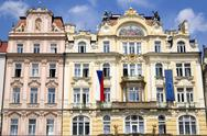 Stock Photo of Czech Republic, Prague, Ministry of urban development
