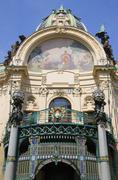 Stock Photo of Czech Republic, Prague, Municipal house