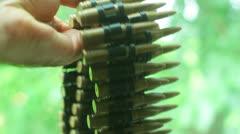 Ammo ammunition bullets Stock Footage