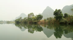 Amazing dragon(yulong) river scenery Stock Footage