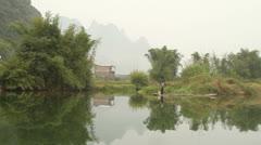 Amazing dragon(yulong) river scenery Stock Footage