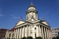 Germany, Berlin, Gendarmenmarkt, French cathedral - stock photo