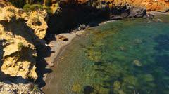 Peaceful picturesque seascape. Stock Footage