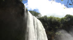 Powerful Waterfall - stock footage